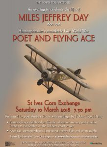 Poet and Flying Ace Miles Jeffrey Day